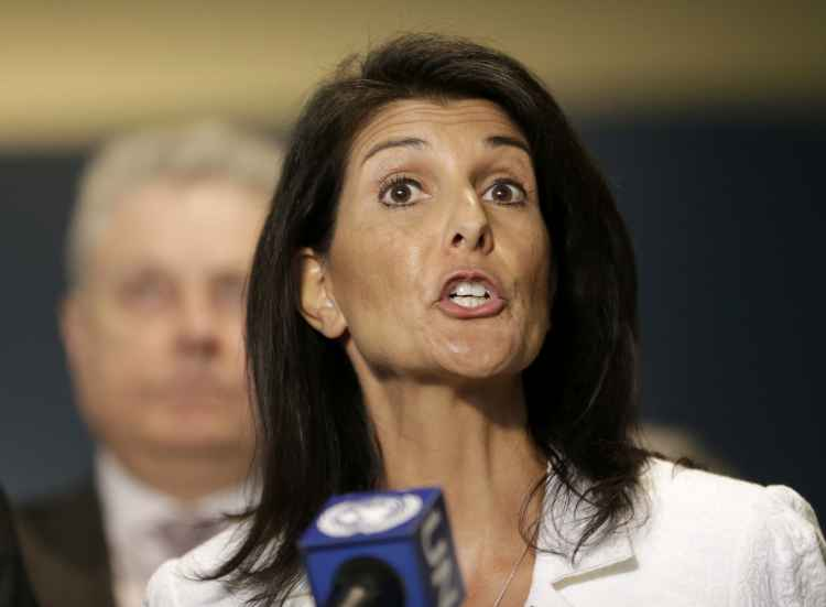 "Nikki Haley: The Days of ""Israel Bashing"" at U.N. ""Are Over"""