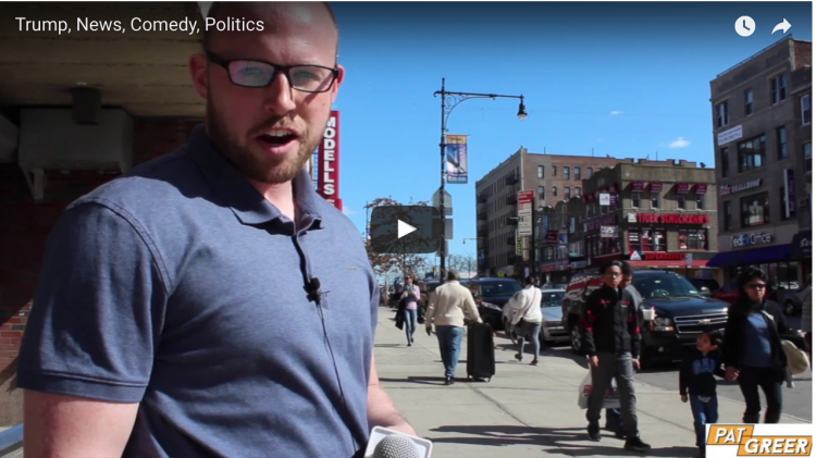 Pat Greer: Hitting the Streets of Brooklyn to See how NYC Residents Feel About President Trump.