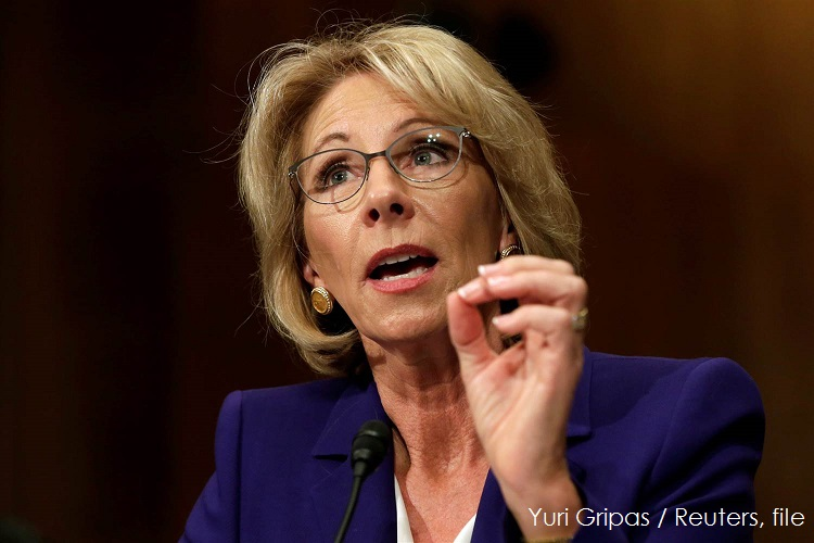 Betsy DeVos Rolls Back Obama Era Student Loan Borrower Protections