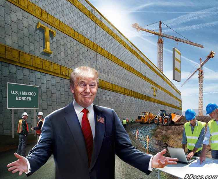 Trump, Congress, the Budget and Creating a Wall of a Bargaining Chip.